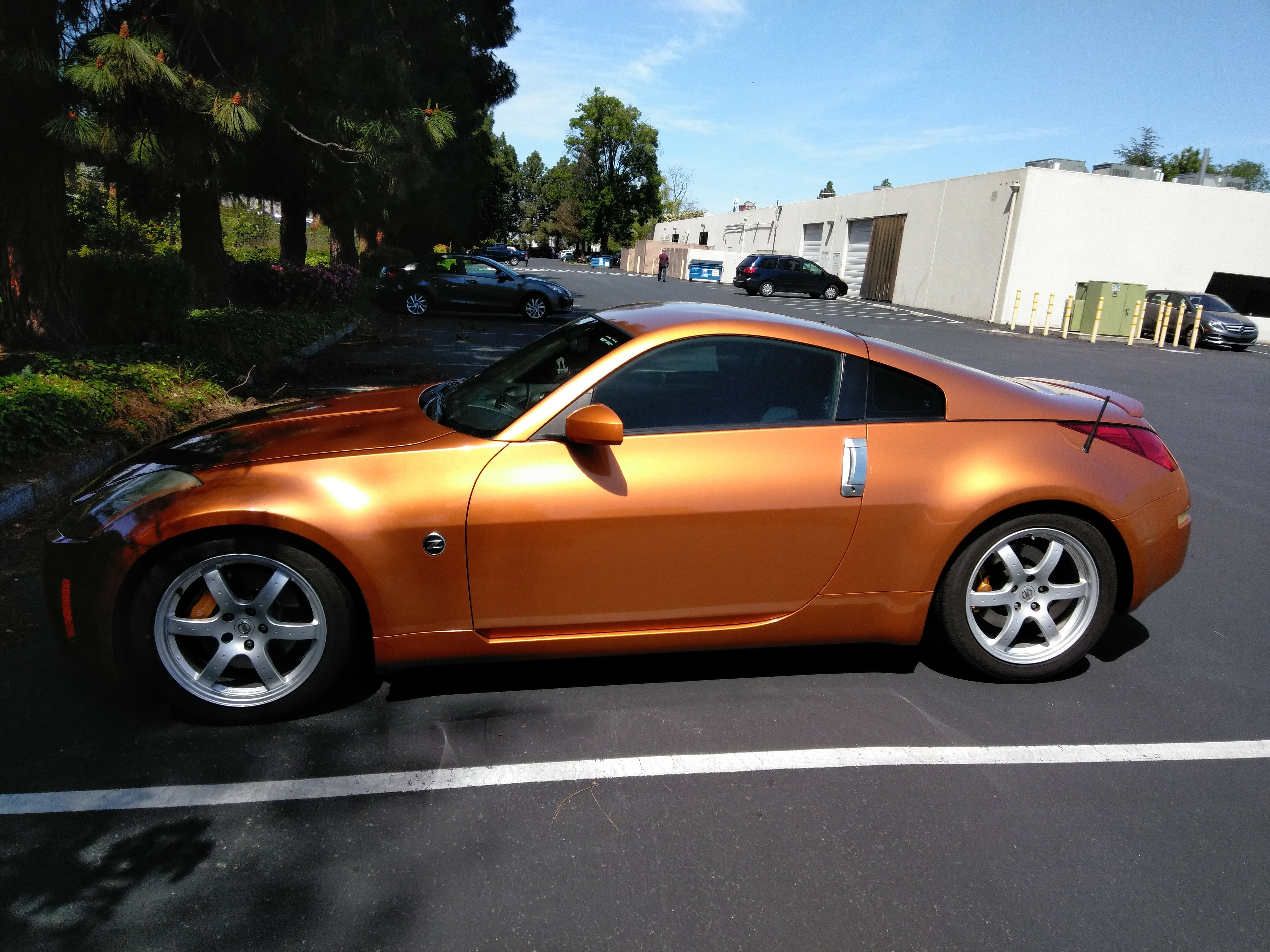 350z nissan track 2003 supercharged vortech ruben contact